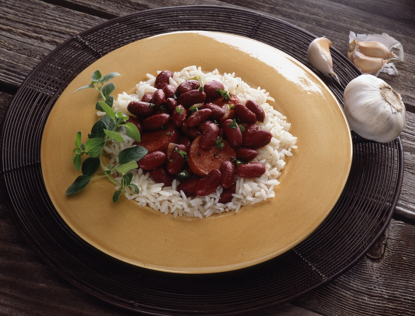 Quick Red Beans And Rice Recipe  Quick Red Beans & Rice Recipe