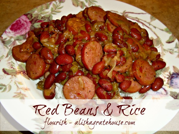 Quick Red Beans And Rice Recipe  Red Beans and Rice