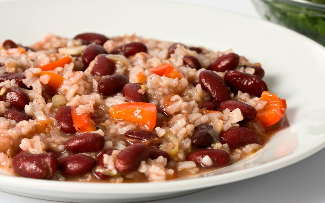 Quick Red Beans And Rice Recipe  Portia and Ellen s Vegan Red Beans and Rice