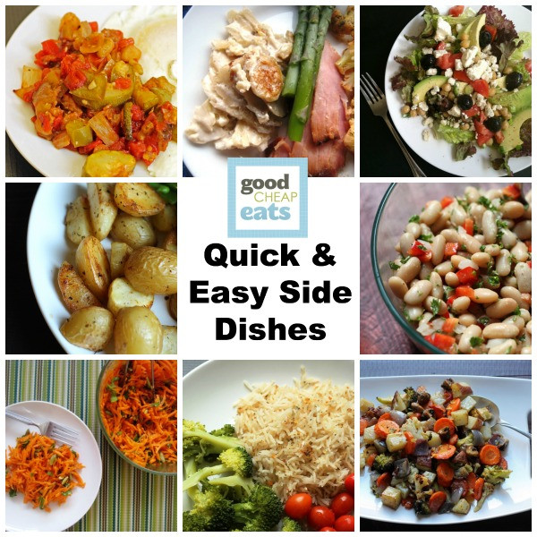 Quick Side Dishes  Quick and Easy Side Dishes