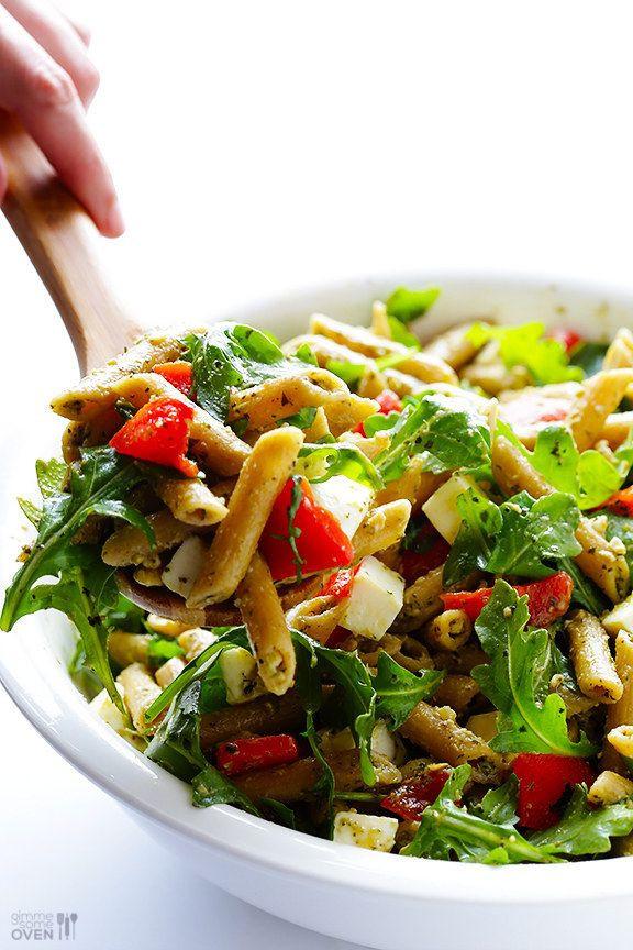 Quick Side Dishes  Nudelsalat mit 5 Zutaten