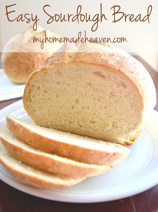 Quick Sourdough Bread  Easy Sourdough Bread with starter instructions My