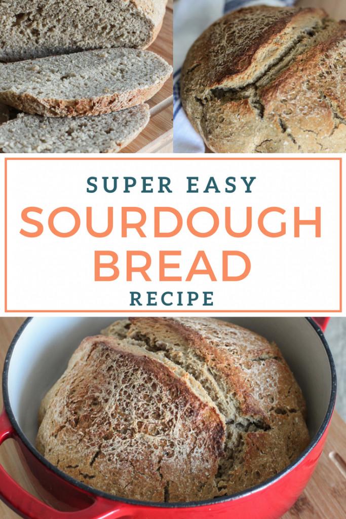 Quick Sourdough Bread  Super Easy Sourdough Bread Dutch Oven Style The Wild Gut