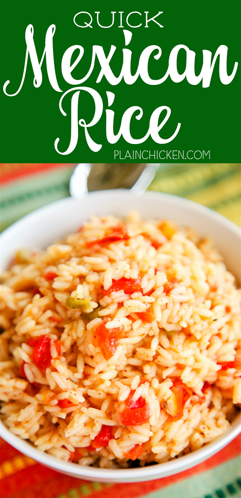 Quick Spanish Rice  Quick Mexican Rice