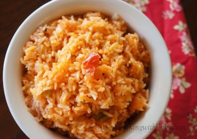 Quick Spanish Rice  easy spanish rice with salsa