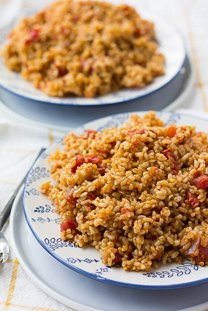 Quick Spanish Rice  Instant Pot Spanish Rice Nora Cooks