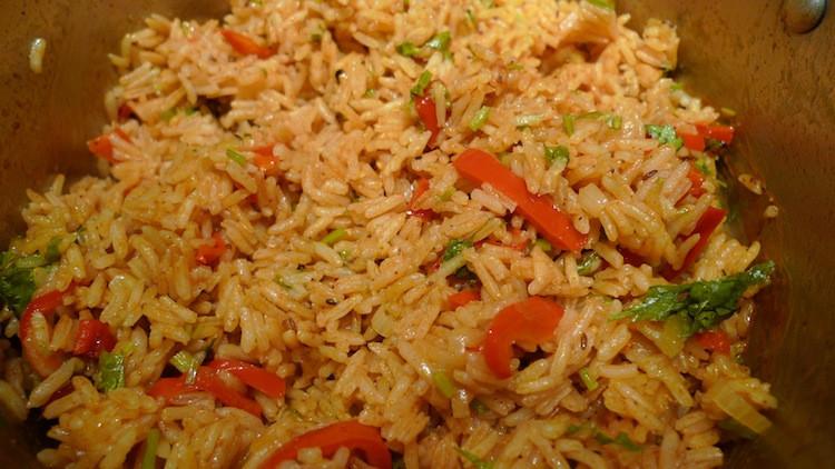 Quick Spanish Rice  Sharing Plate Quick Spanish Rice