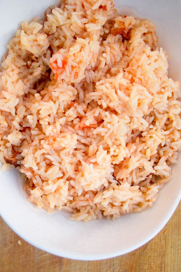 Quick Spanish Rice  Quick and Easy Spanish Rice In The Rice Cooker Dad With