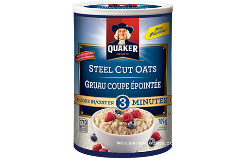 Quick Steel Cut Oats  Quaker Quick Cook Steel Cut Oats Coupon