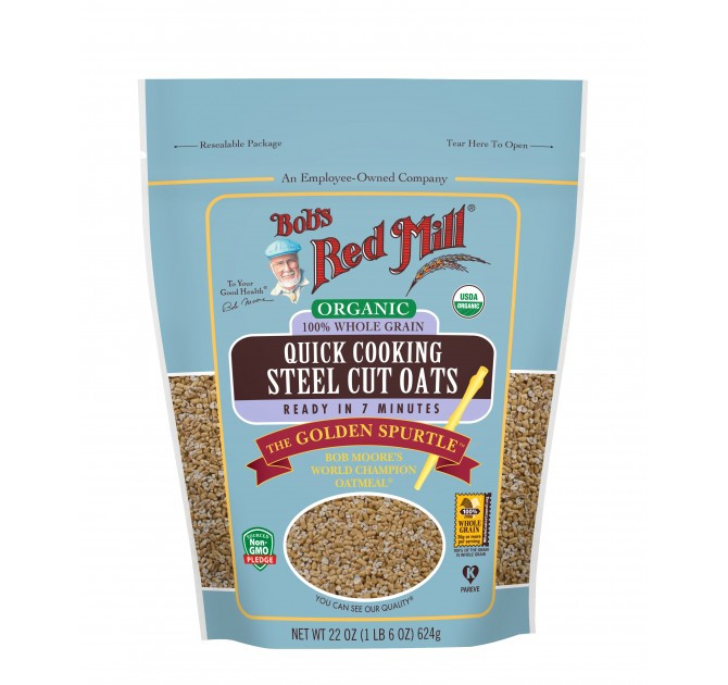 Quick Steel Cut Oats  Organic Quick Cooking Steel Cut Oats