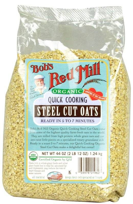 Quick Steel Cut Oats  Bob s Red Mill Quick Cooking Steel Cut Oats 22 oz 4 Pack