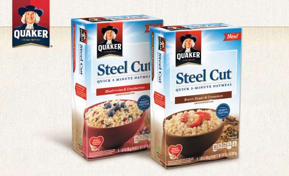 Quick Steel Cut Oats  Quaker Steel Cut Oats Review Freebiequeen13 Contests And