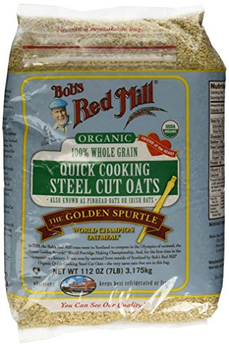 Quick Steel Cut Oats  112oz Organic Steel Cut Oats Bob s Red Mill Quick Cooking
