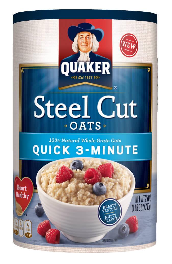 Quick Steel Cut Oats  Quaker Oats Steel Cut Quick Cook