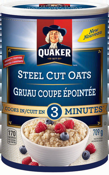 Quick Steel Cut Oats  Quaker Quick Cook Steel Cut Oats