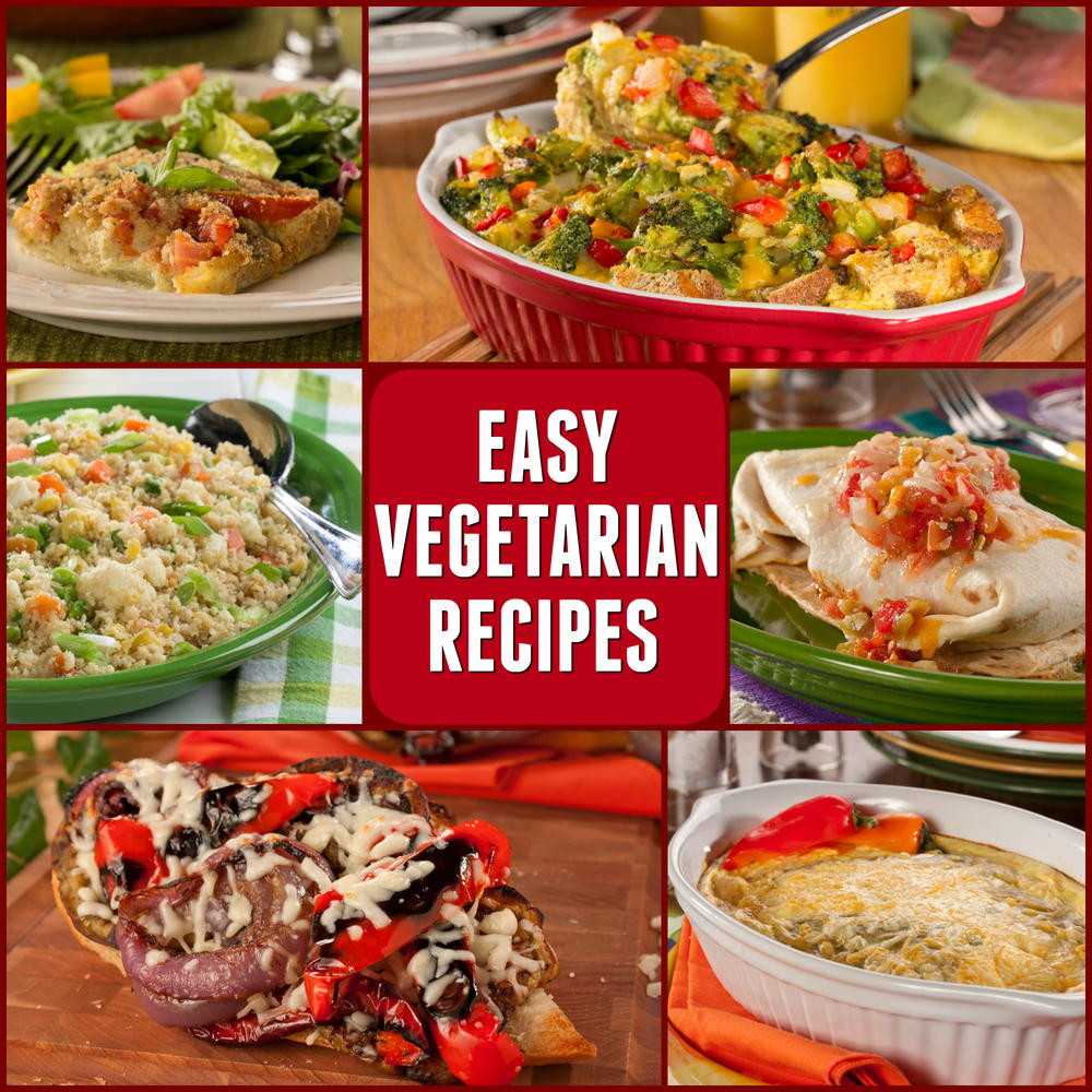 Quick Vegetarian Dinner Recipes  10 Easy Ve arian Recipes