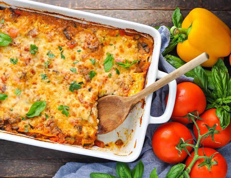 Quick Vegetarian Dinner Recipes  Quick and Easy Ve able Lasagna The Seasoned Mom
