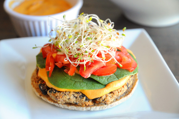 Quinoa Black Bean Burger  Vegan Bean Quinoa Burger