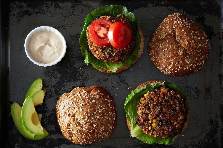 Quinoa Black Bean Burger  Black Bean and Quinoa Veggie Burgers Recipe on Food52