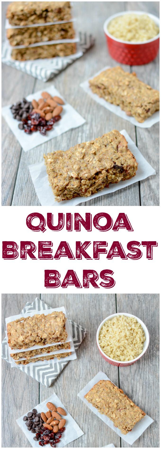 Quinoa Breakfast Bars  Quinoa Breakfast Bars