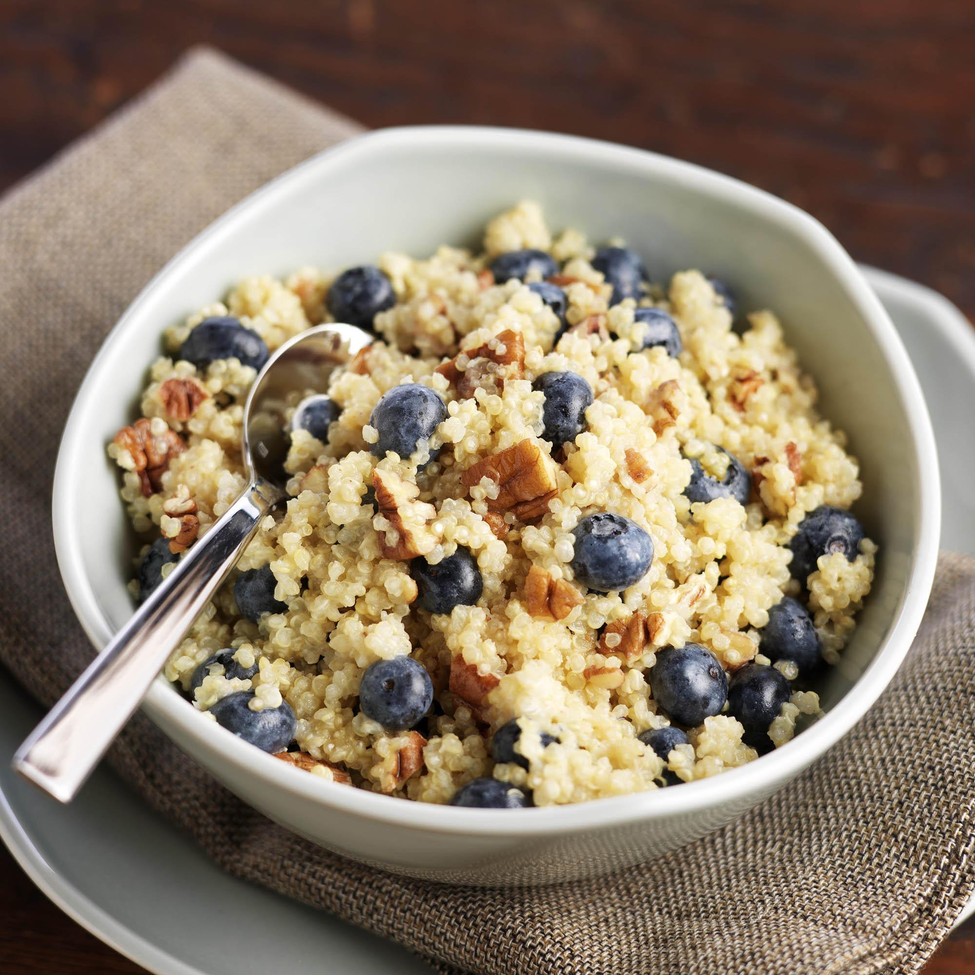 Quinoa Breakfast Cereals  Blueberry Quinoa Breakfast Cereal