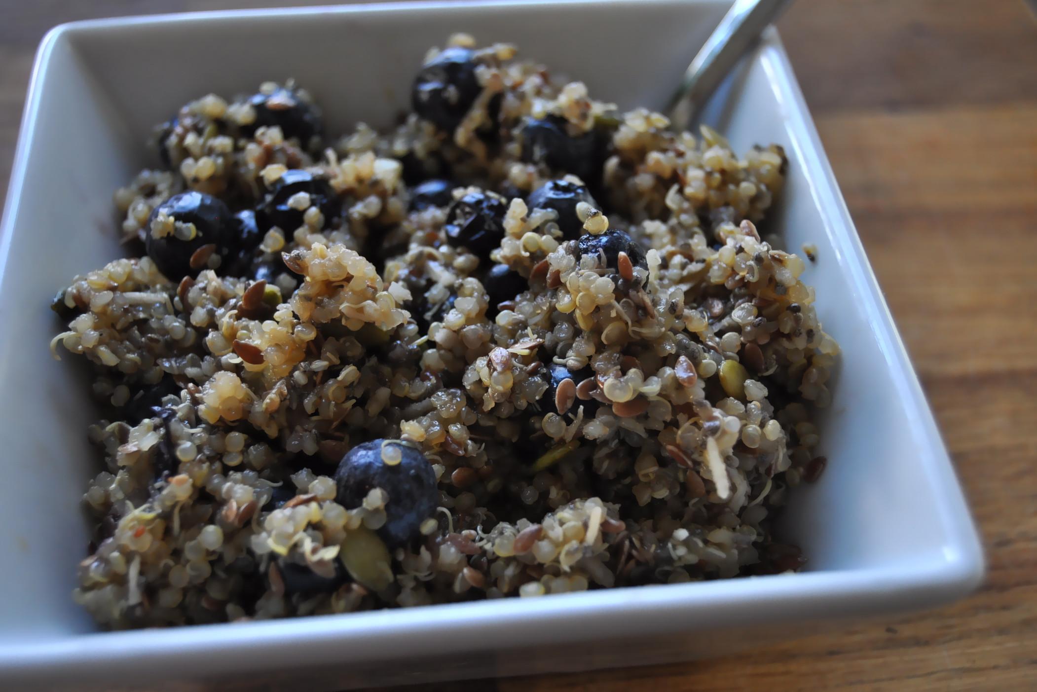 Quinoa Breakfast Cereals  Warm Quinoa Breakfast Cereal