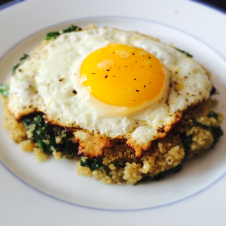 Quinoa Breakfast Eggs  quinoa breakfast eggs