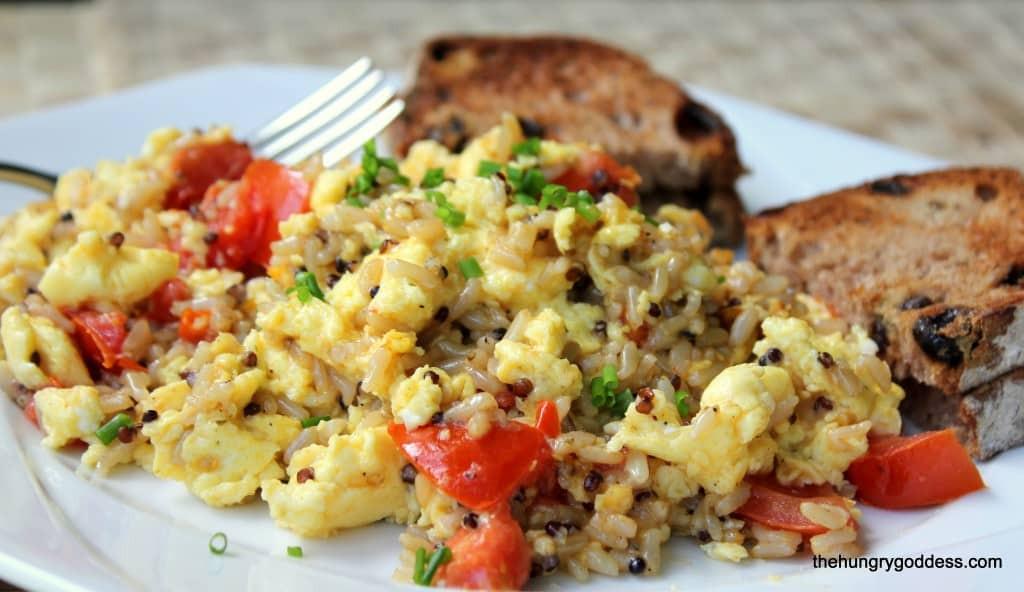 Quinoa Breakfast Eggs  75 Breakfast Recipes Shugary Sweets