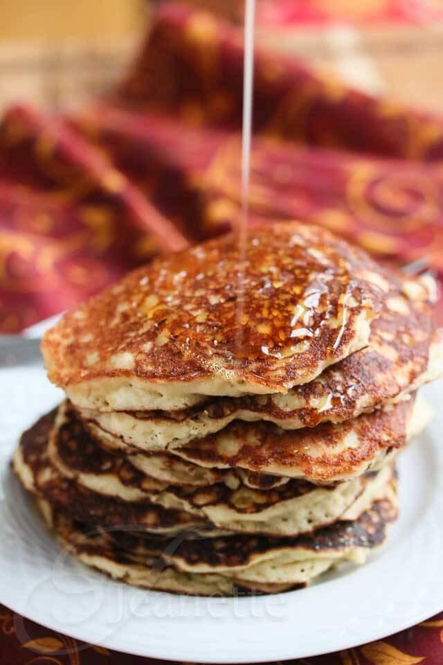 Quinoa Flour Pancakes  Gluten Free Quinoa Almond Flour Pancakes Recipe Jeanette