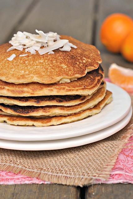 Quinoa Flour Pancakes  Quinoa Almond Flour Pancakes