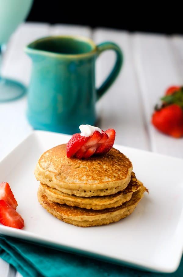 Quinoa Flour Pancakes  Almond Flour Quinoa Pancakes Wendy Polisi