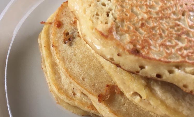 Quinoa Flour Pancakes  Moist & Fluffy Gluten Free Quinoa Flour Pancakes ⋆ FitShowgirl
