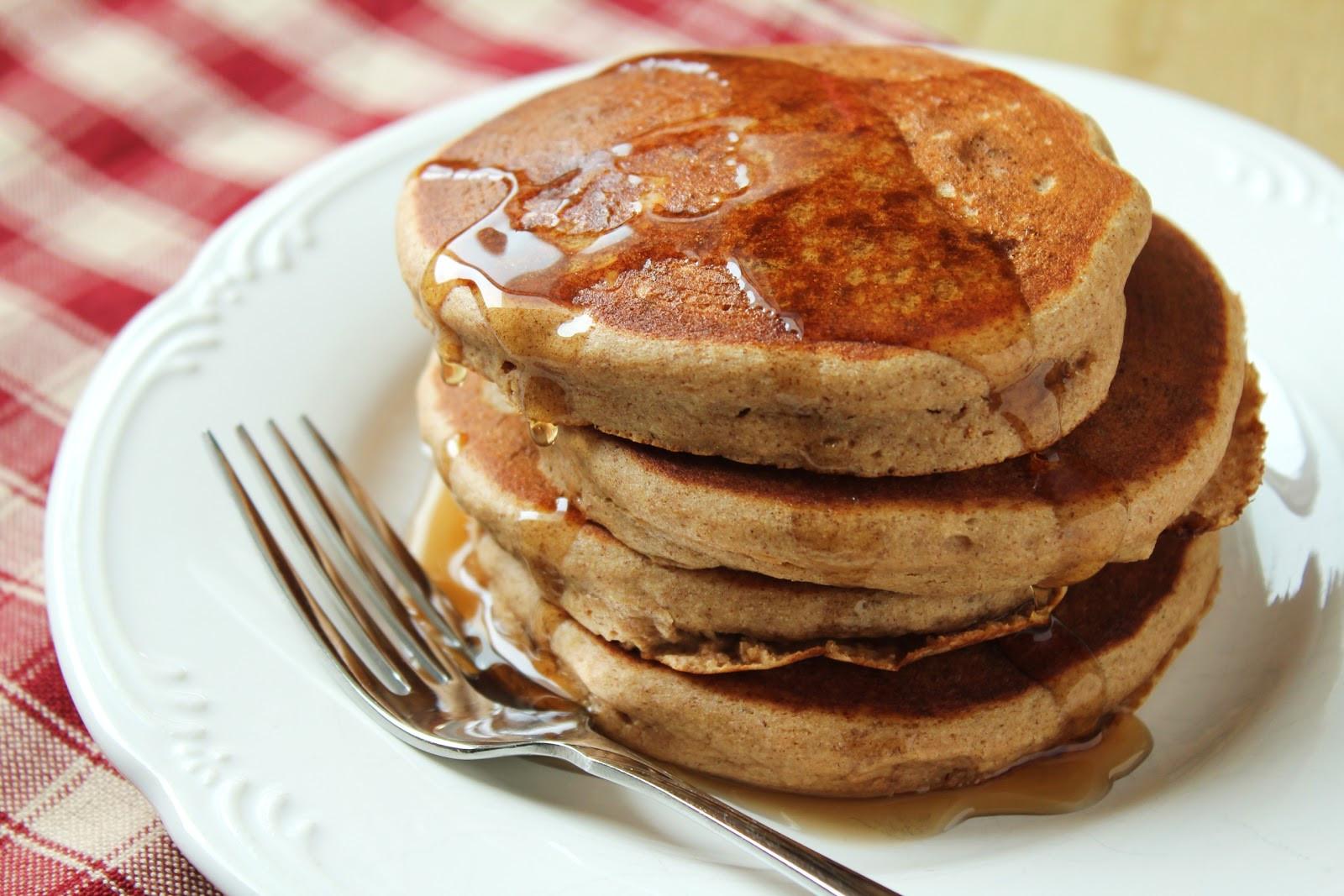 Quinoa Flour Pancakes  Quinoa in the Morning Delicious as it Looks