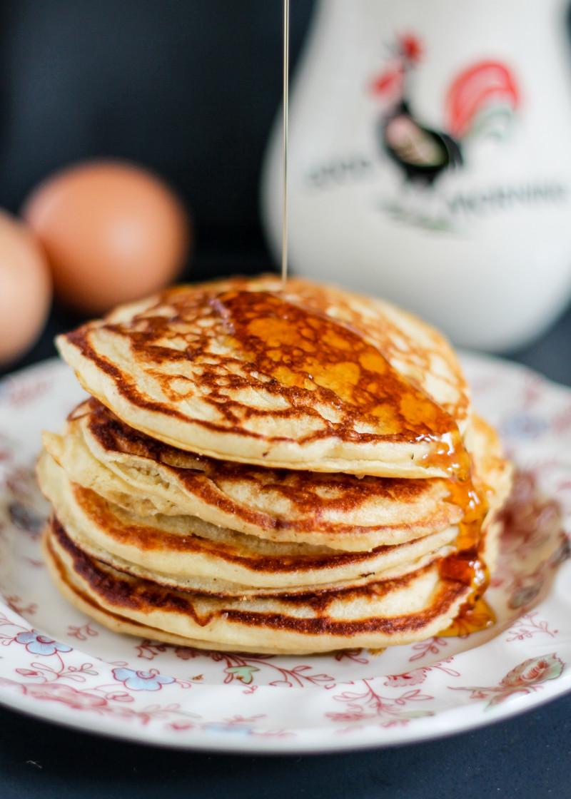 Quinoa Flour Pancakes  Gluten Free Protein Packed Quinoa Flour Banana Pancakes