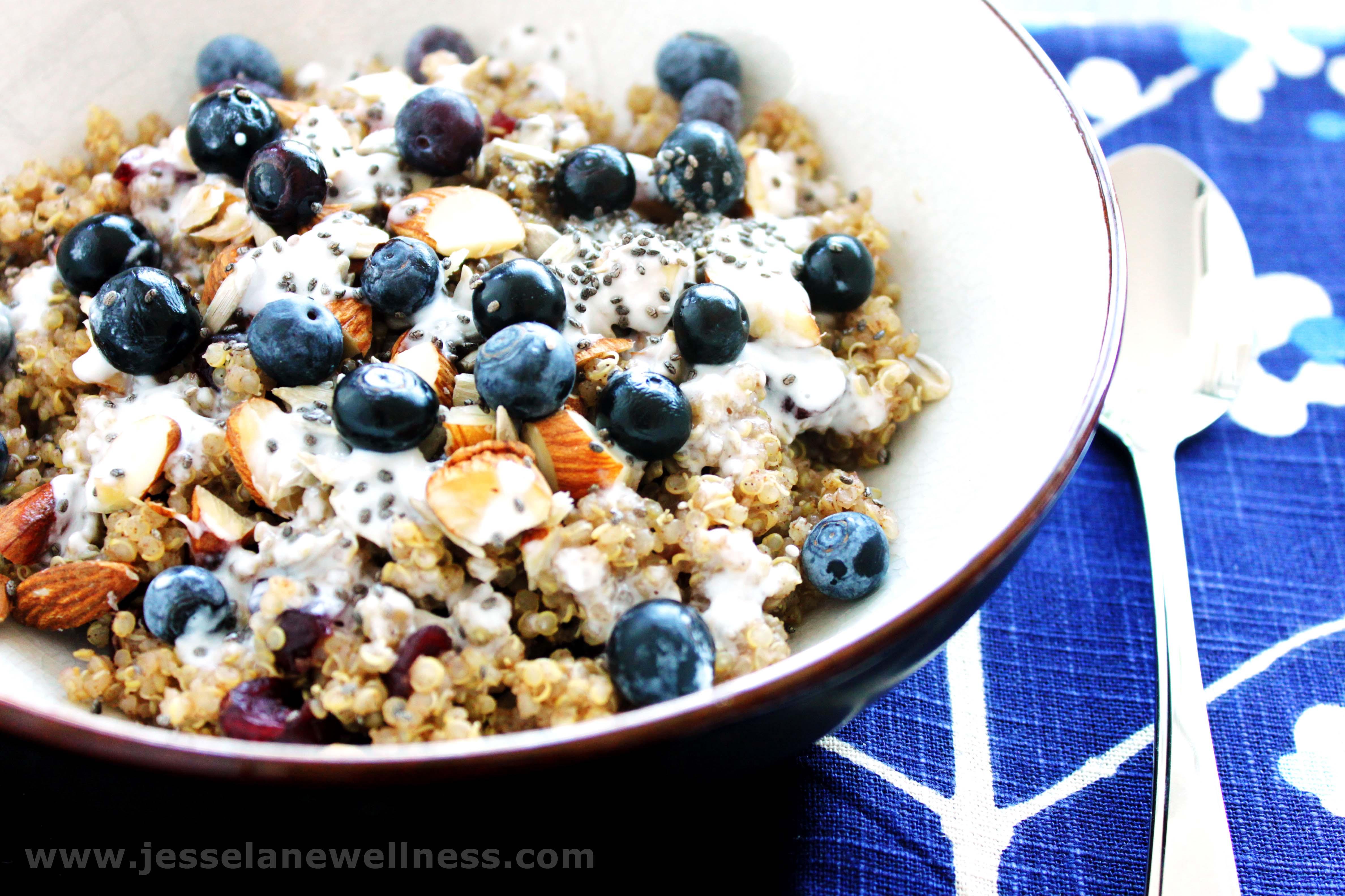 Quinoa For Breakfast  Breakfast Quinoa Vegan and Gluten Free by Jesse Lane