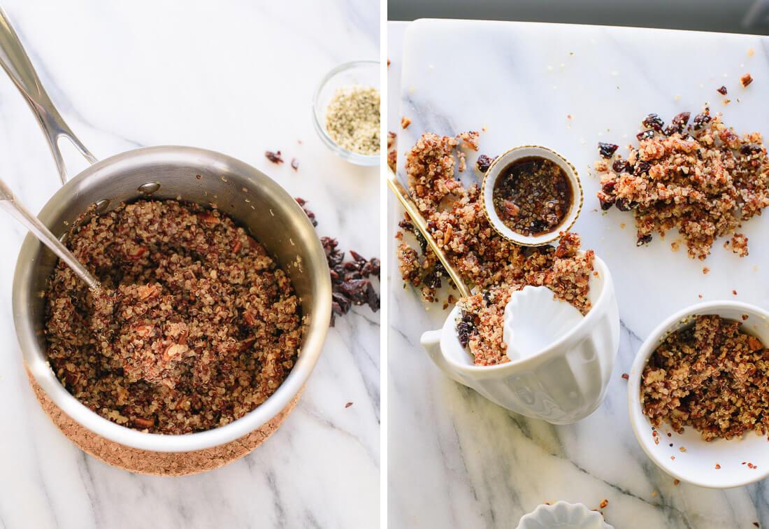 Quinoa For Breakfast  Cinnamon Toast Breakfast Quinoa Cookie and Kate