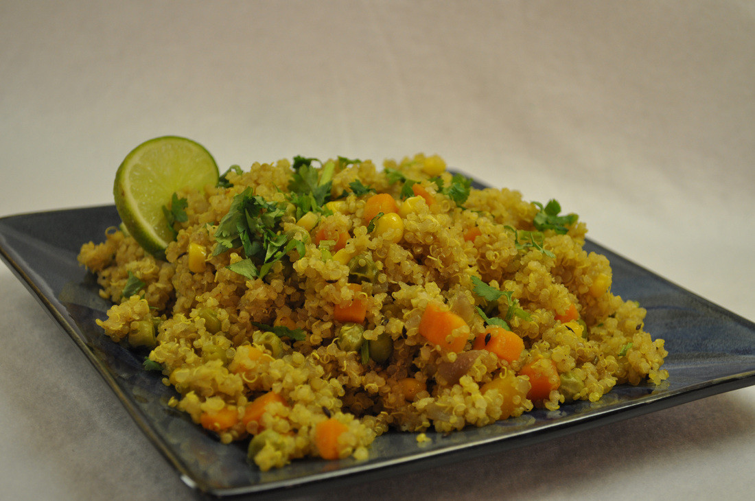 Quinoa Indian Recipes  Recipe Quinoa Pulao The Healthy Indian Diet