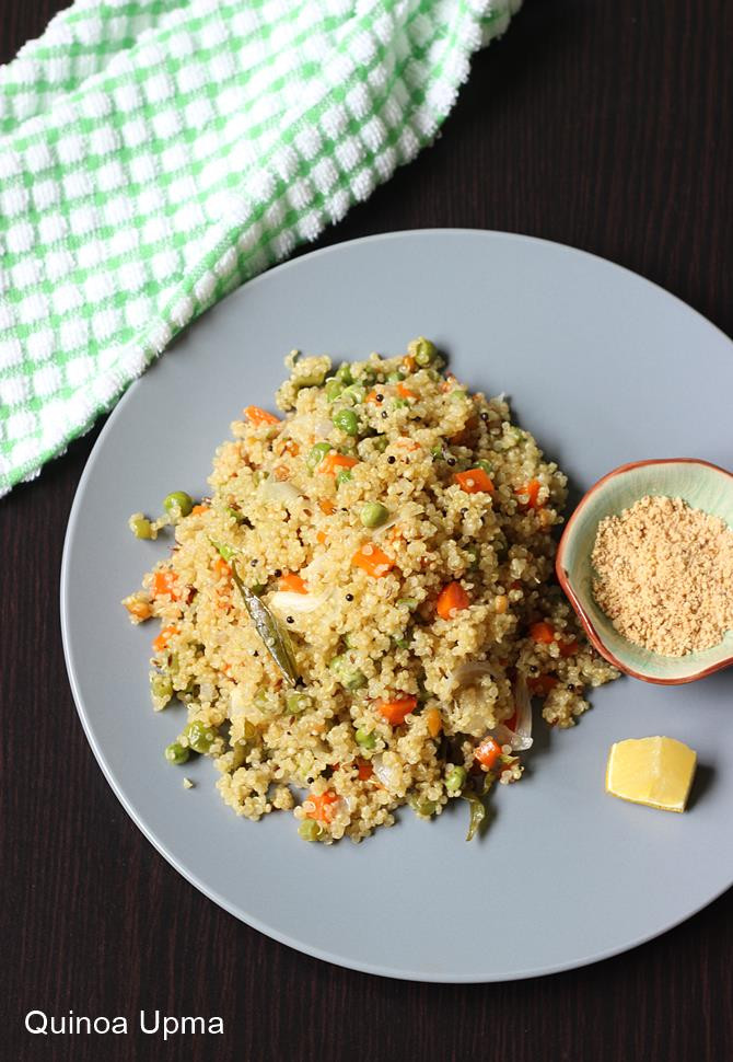 Quinoa Indian Recipes  Quinoa upma recipe