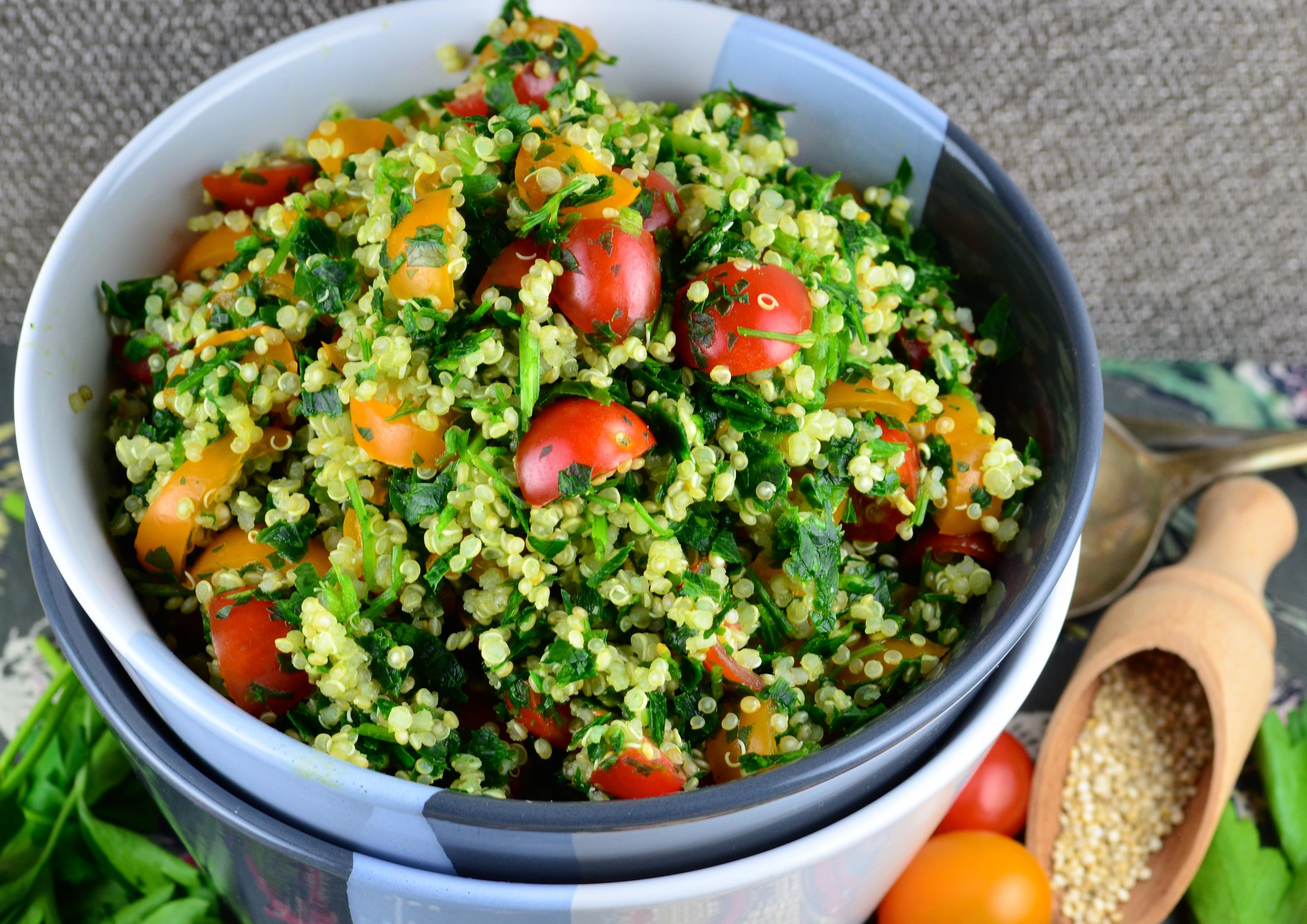 Quinoa Kosher For Passover  Not Just For Passover Recipes Quinoa Tabbouleh