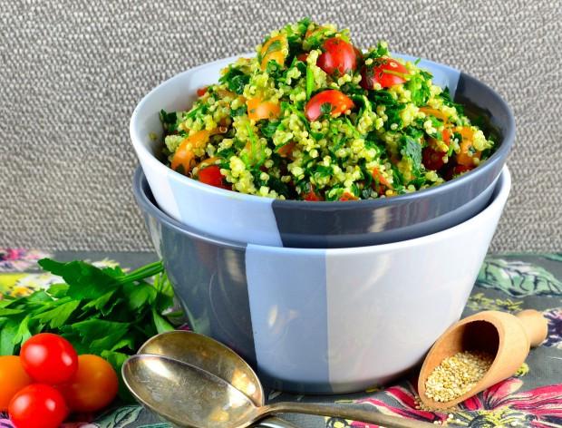 Quinoa Kosher For Passover  Passover Recipes Quinoa Tabbouleh