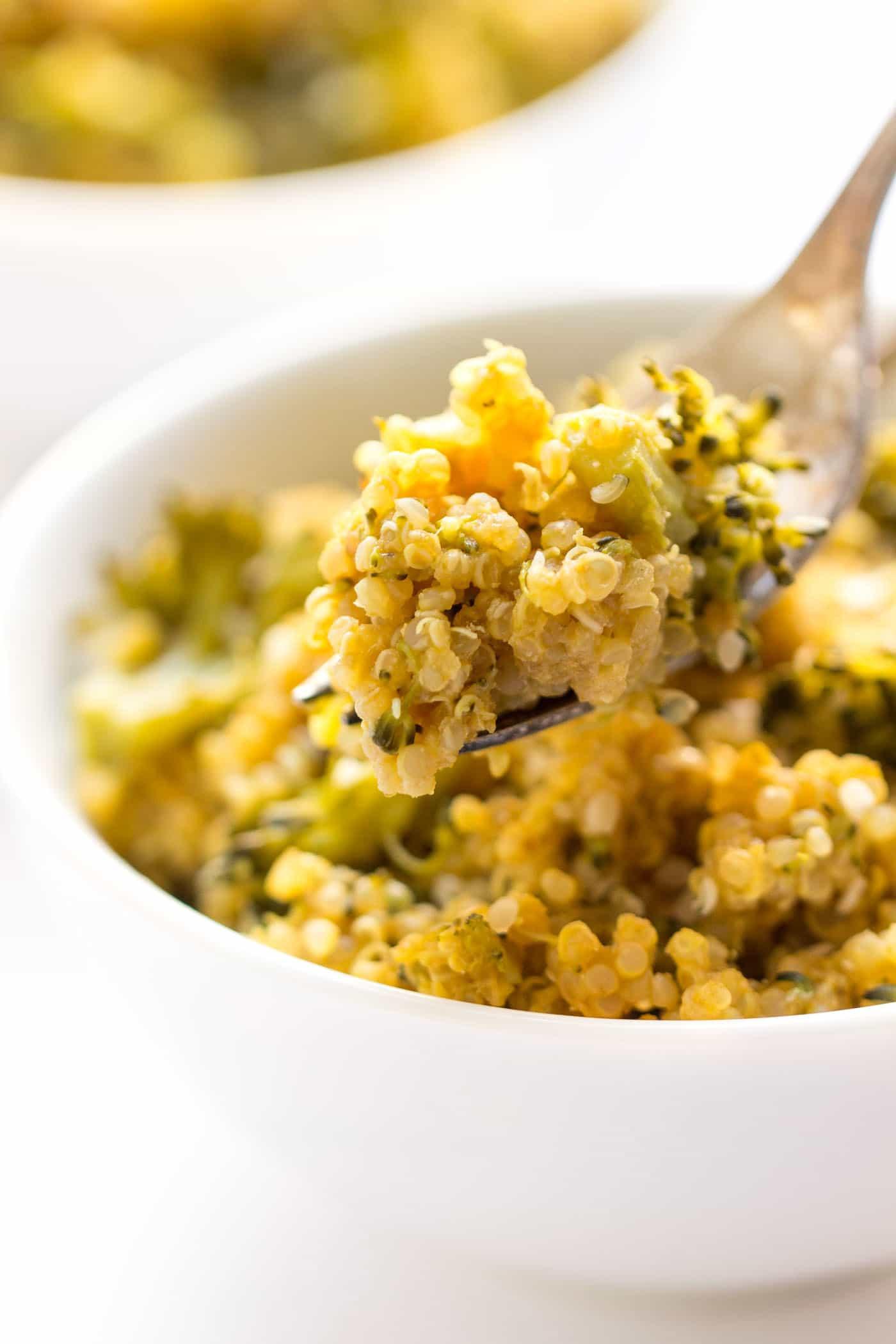Quinoa Mac And Cheese  Broccoli Quinoa Mac and Cheese Recipe Simply Quinoa