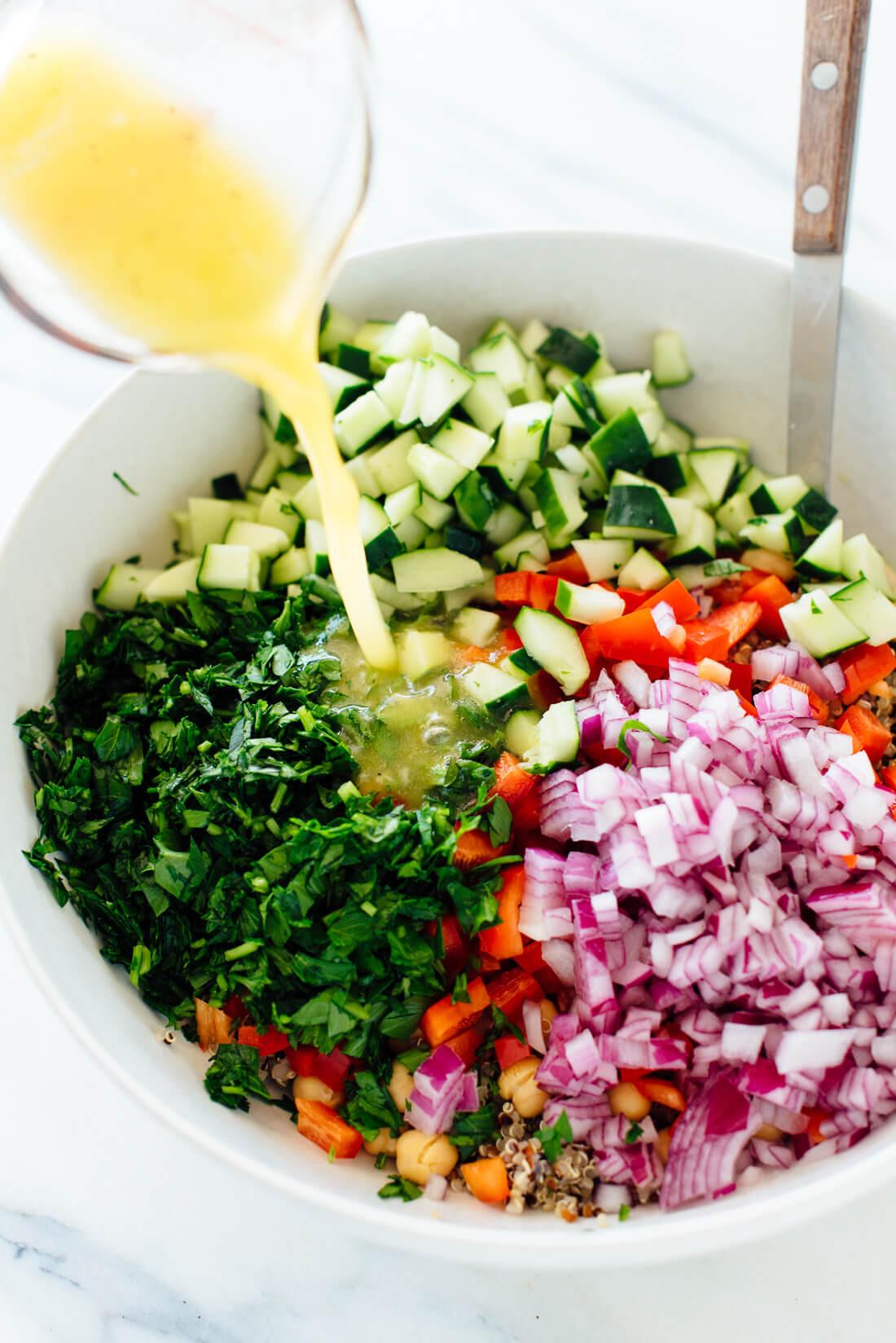 Quinoa Recipes Salad  Favorite Quinoa Salad Recipe Cookie and Kate