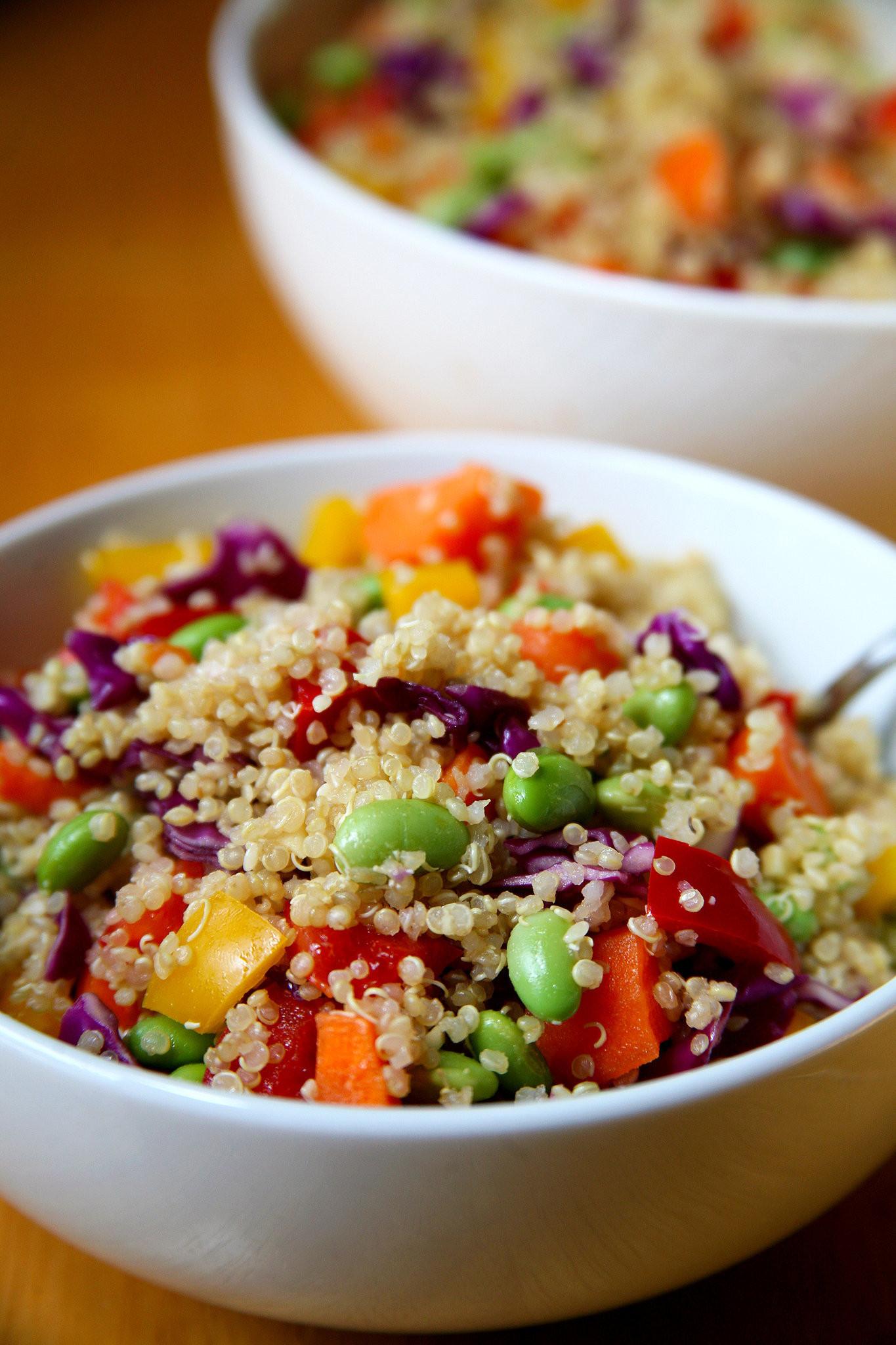 Quinoa Recipes Salad  Healthy Quinoa Vegan Salad