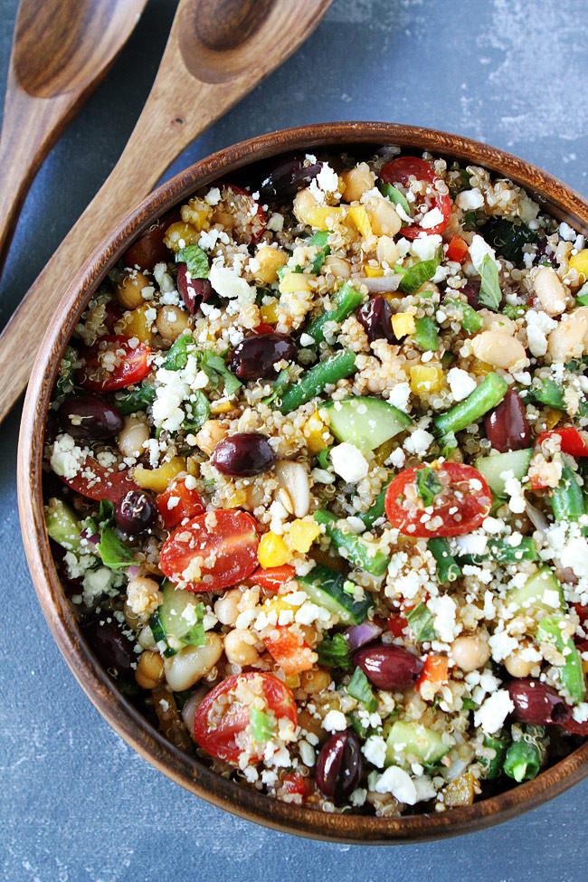 Quinoa Recipes Salad  Mediterranean Salad with Quinoa