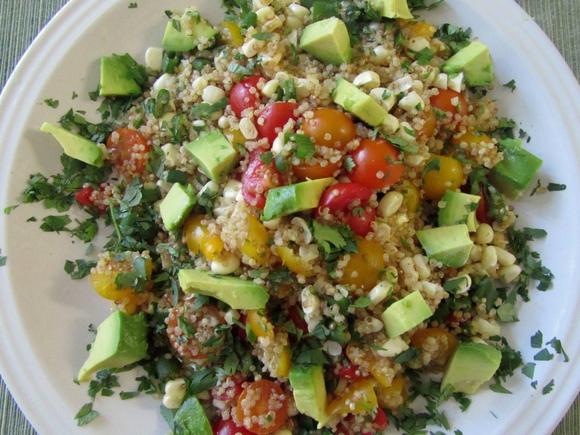 Quinoa Recipes Salad  7 Organic Quinoa Salad Recipes