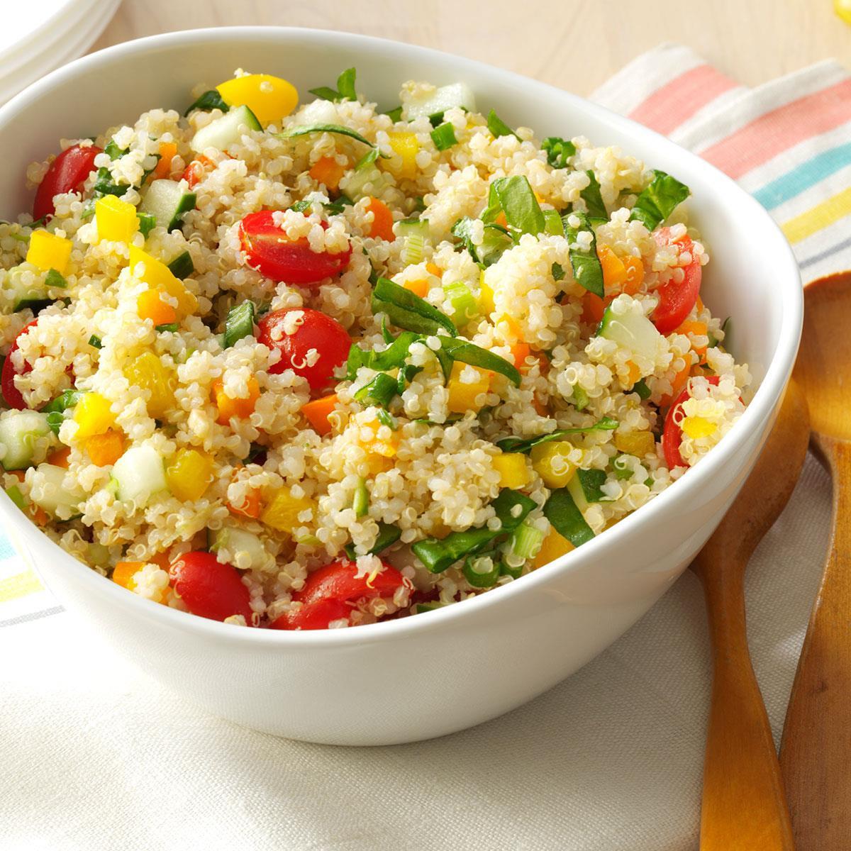 Quinoa Salad Dressing  Colorful Quinoa Salad Recipe