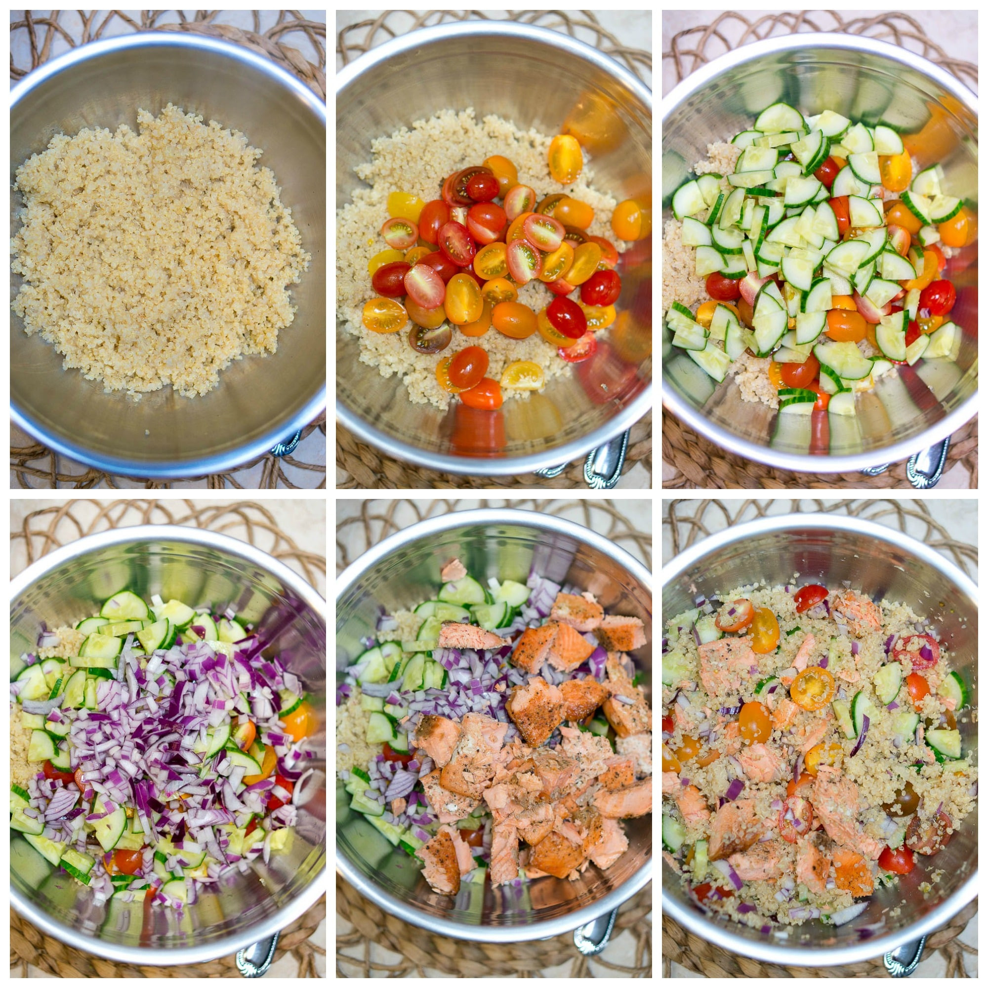 Quinoa Salad Dressing  Quinoa Salad with Salmon