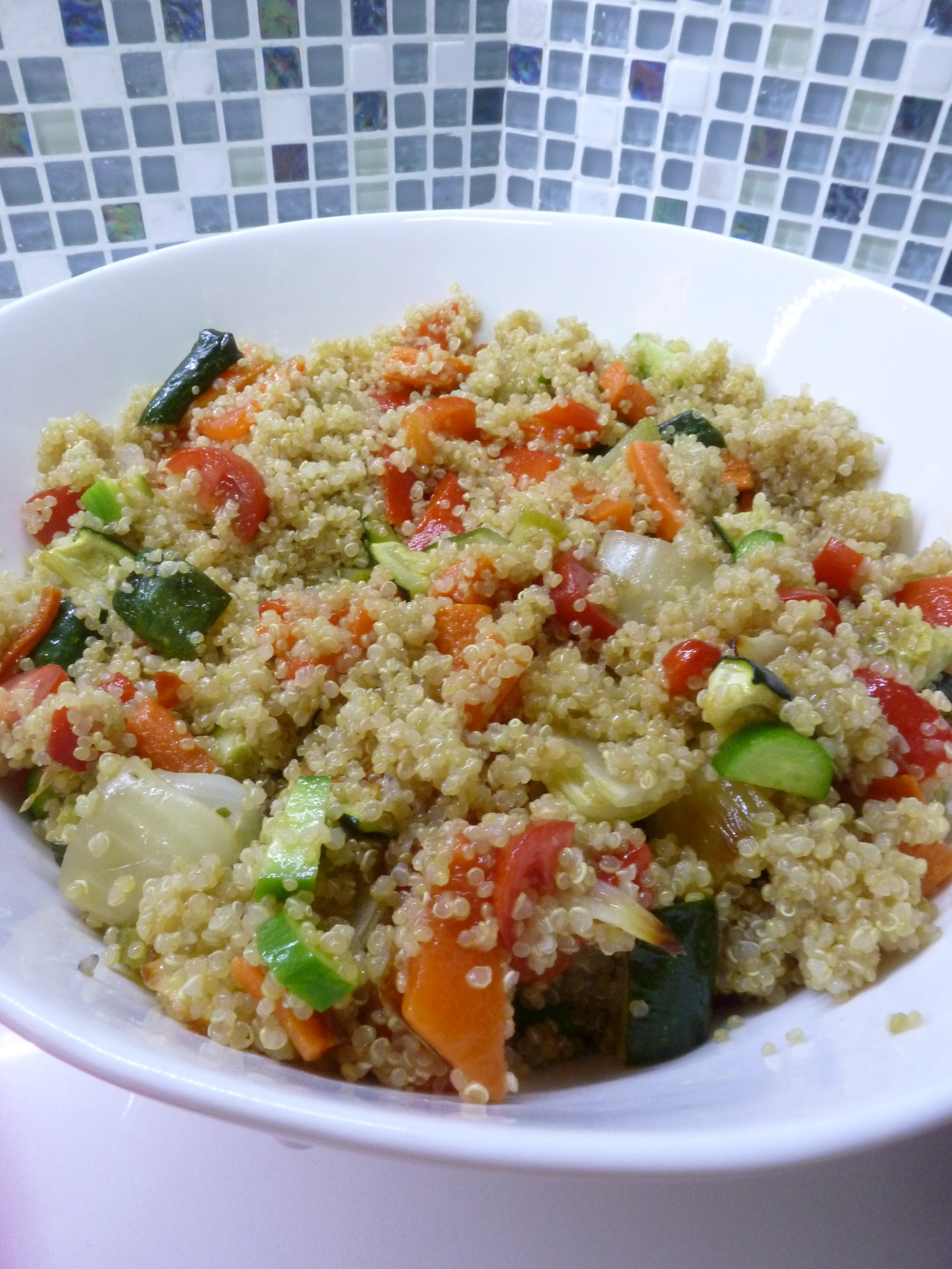 Quinoa Salad Dressing  Roasted Ve able and Quinoa Salad with Citrus Dressing