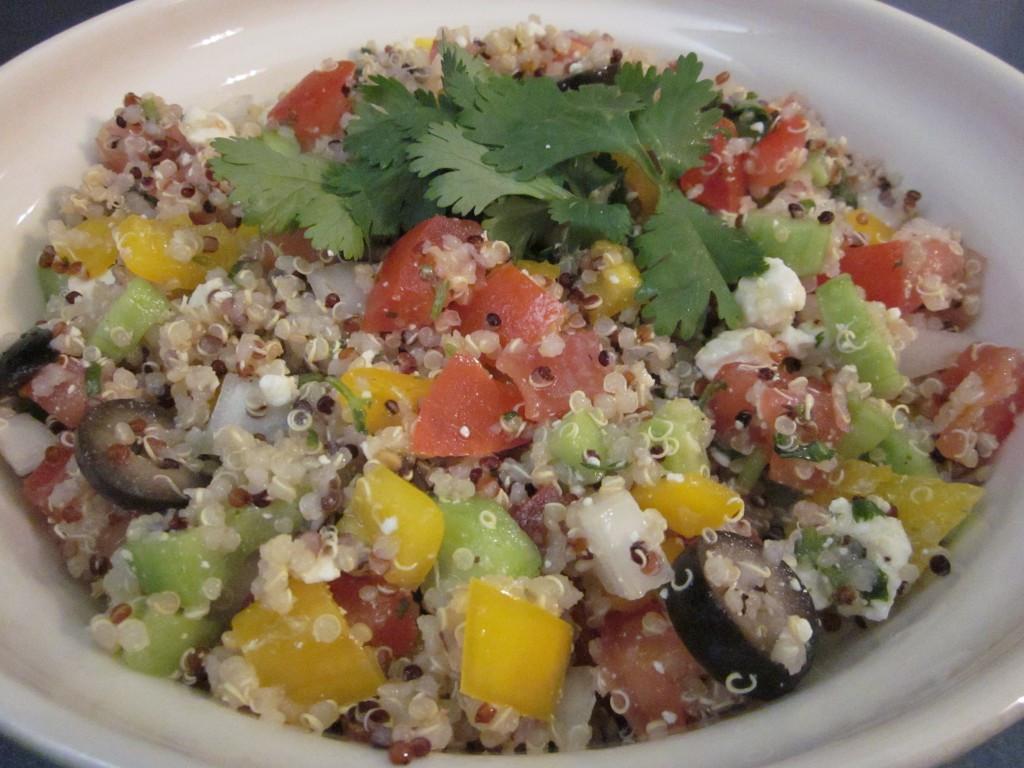 Quinoa Salad Dressing  Quinoa Salad With Cilantro Lime Dressing