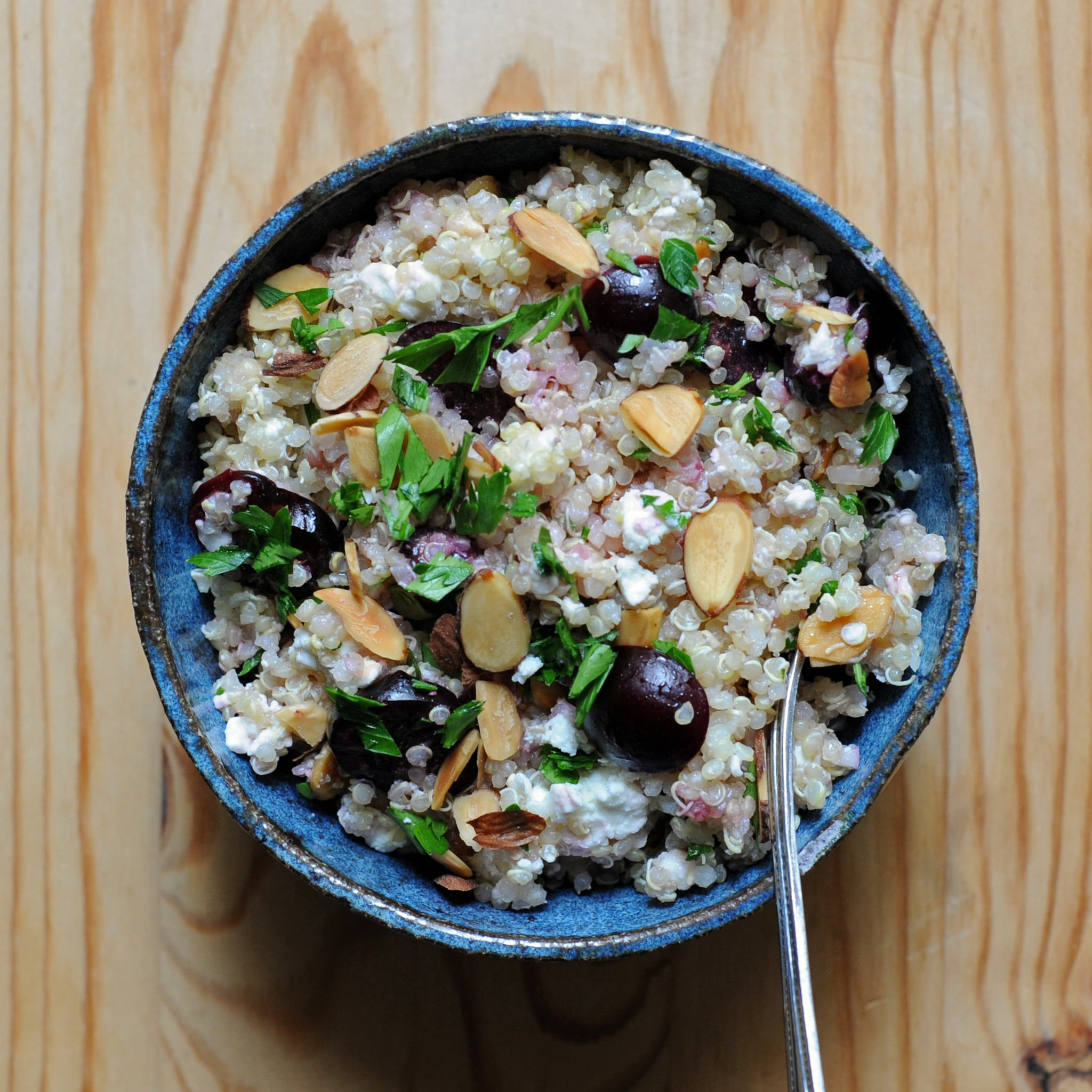 Quinoa Salad Feta  Quinoa Salad With Cherries and Feta